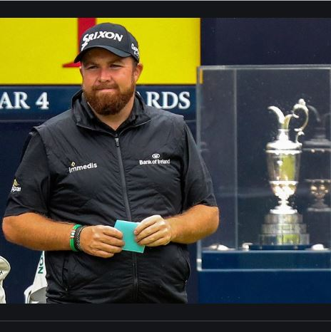Shane Lowry Golf Open Champion 2019